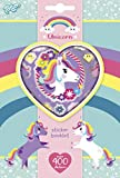 Kit Créatif - Licorne - Unicorn - Sticker Book 4 Sheet - +250 Autocollants -