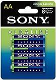Sony Alkaline, 4 x AA Alcalino 1.5V batteria non-ricaricabile
