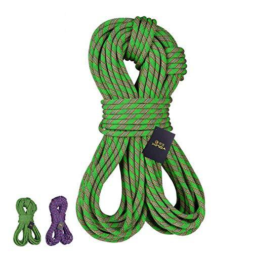 (GYHHM 11 mm x 30 m Mehrzweck-Seil, Outdoor Feuerflucht Rettung Fallschirm, Statisches Seil, strapazierfähiges Seil)