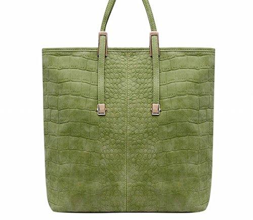 Weibliche handtasche mode wilden Eimer Schulter tasche Schulter diagonalen paket Grün