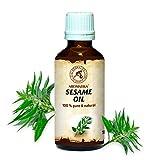 Huile de Sésame 100ml - Sesamum Indicum Seed Oil - Mexique - 100% Pur et Naturel -...
