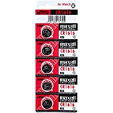 Maxell CR1616 3V Lithium Cell Battery (5pcs per pack)
