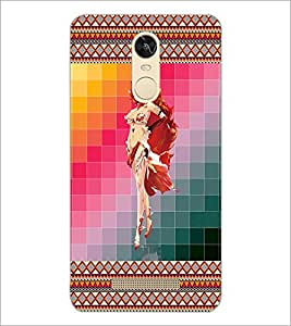 PrintDhaba Fantasy Girl D-6013 Back Case Cover for XIAOMI REDMI NOTE 3 PRO (Multi-Coloured)