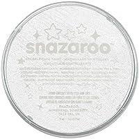 Snazaroo - Colori Pittura per il Viso, Bianco Scintillante, 18 ml
