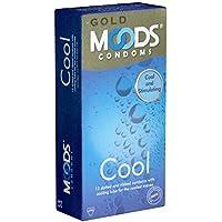 MOODS GOLD Cool Condoms - 12 strukturierte Passform-Kondome mit Kühlbeschichtung preisvergleich bei billige-tabletten.eu