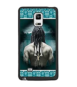 PrintDhaba Trishul D-5688 Back Case Cover for SAMSUNG GALAXY NOTE EDGE (Multi-Coloured)