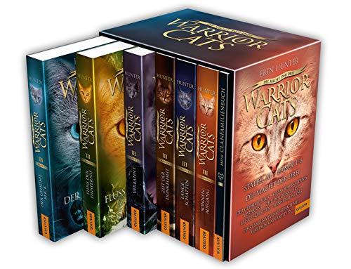 Warrior Cats. Die Macht der drei. Bände 1-6: Warrior Cats, Staffel III, Bände 1-6 Iii Cat