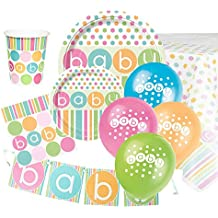 Pastel Baby Shower Ultimate Artículos para Fiestas Kit ...
