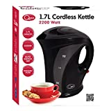 from Quest Quest Jug Kettle, 1.7 L, 2200 Watt, Black Model 35100