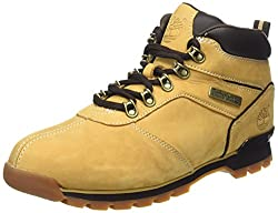 Timberland Mens Splitrock Lace-up Ankle Boots Beige (Wheat) 9.5 UK
