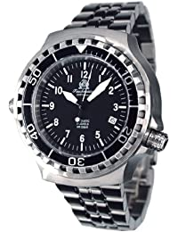 diver watch -automatic movt. sapphire glass and metall band T0251M