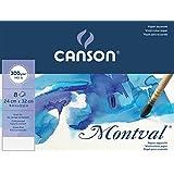 Canson Pochette Beaux Arts 400056376 Papier à dessin Grain Fin Blanc Naturel