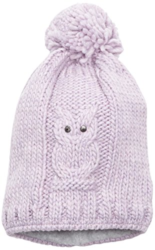 Döll Pudelmütze Strick - Bonnet - Fille Blanc (pastel Lilac 7080)
