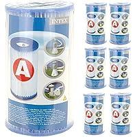 Intex - Confezione Di 6 Filtri Di Ricambio A Cartuccia Per Pompe Intex, Modello 59900