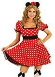 Damen Kostüm Minnie Mickey Gr. S 34 Maus Mouse Costume