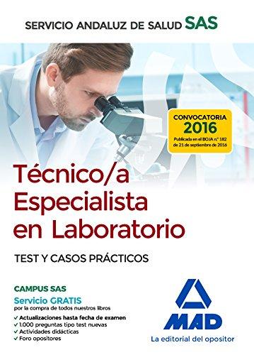 TECNICOS ESPECIALISTAS EN LABORATORIO DEL SERVICIO ANDALUZ DE SALUD