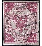 Goldhahn Lübeck Nr. 4 gestempelt Geprüft Briefmarken für Sammler