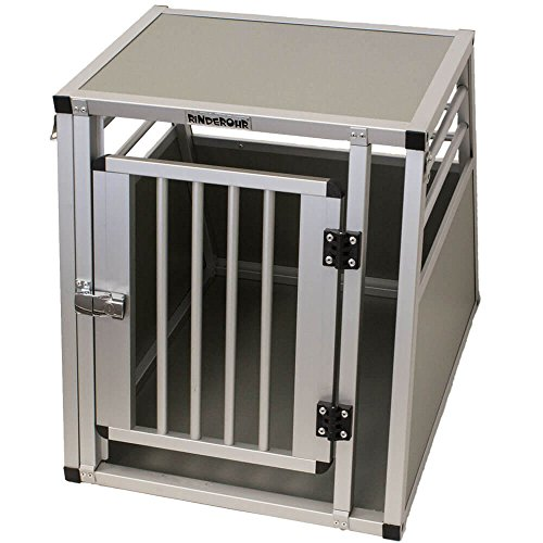 Rinderohr Hundebox – Alubox – Transportbox XL… | 04260572420767