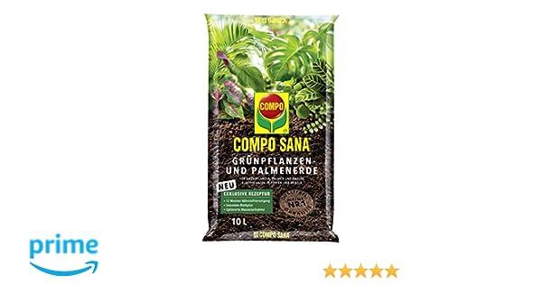 5/L Compo Sana 1142002004/Gr/ünpflanzen and Palm Tree Earth