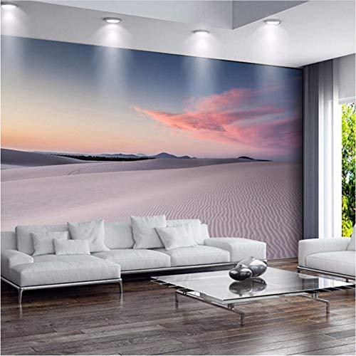 Qwerlp Moderne Einfache Wüstenlandschaft Fototapete Wohnzimmer Schlafzimmer Esszimmer Umweltfreundliche Fresko Vliestapete 3 D-410Cmx310Cm