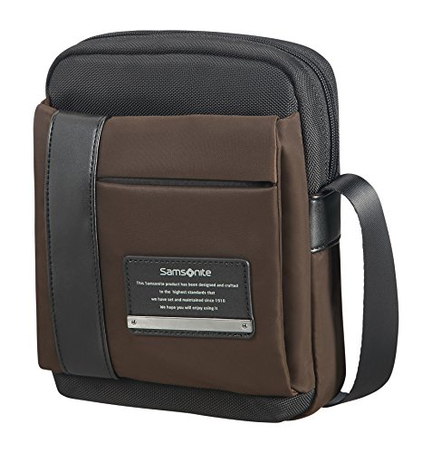 "Samsonite Openroad Tablet Crossover M 7.9"" Bolso Bandolera, 3.5 litros, Color Marrón"