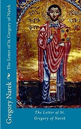 The Letter of St. Gregory of Narek por Frederick Cornwallis Conybeare