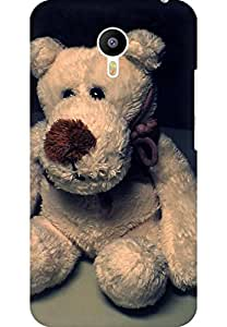 AMEZ designer printed 3d premium high quality back case cover for Meizu M2 Note (teddy bear)