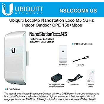 Ubiquiti Networks Nanostation Loco M2 Outdoor MIMO 2x2 802 11g/n