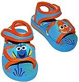 Badeschuhe / Sandalen - Gr. 24 / 25 -' Disney - Findet Nemo - Fisch Dory' - mit Klettverschluss / Fersen Riemchen - Riemchensandalen - rutschfeste Schuhe Schuh / mit Profilsohle - für Kinder - Mädchen & Jungen / Hausschuhe Gartenschuhe - Wasserschuhe - Wasser - Duschschuhe - Badelatschen - Fische - Unterwasser / Finding Dorie - Clownfisch / Anemonenfisch - Klett - Moosgummi / Gummi - Badesandalen
