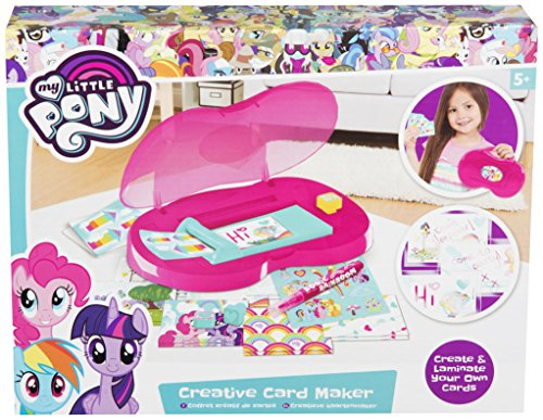 Sambro MLP4-Y17-4526 My Little Pony Creative Card Maker, alfonbrilla para ratón
