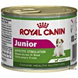 Royal Canin Junior Appetite Stimulation Wet Dog Food - 195g x12 (Suitable For Small Dogs Up To 10kg - adult weight) from 2-10 months old