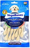 #5: Foodie Puppies VegeBones Small Soft Bones Dental Snacks for Dogs, 60g with Free Key Ring (Hip & Joint Care)