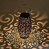 AYOUYA Lanterna Solare LED Luci Solari Giardino Forma di Nuvola Appeso Lampada Solare LED Lanterna da Giardino IP44 Impermeabile Decorative per Giardino Balcone