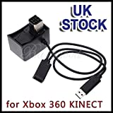 Generic NV_1001004944_YC-UK2 ensorTra Cable Adapter SB Ca Power Supply dapte Convertor for Xbox verto AC Transfer USB Xbox 360 KINECT Sensor Power S