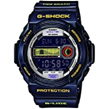 Casio GLX-150B-6ER - Reloj digital de cuarzo para hombre con correa de resina, color azul