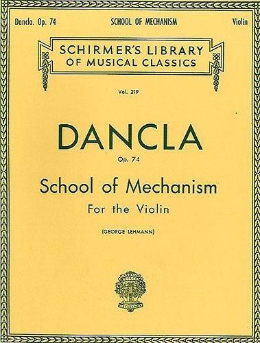 Pdf Charles Dancla School Of Mechanism Op 74 Violon