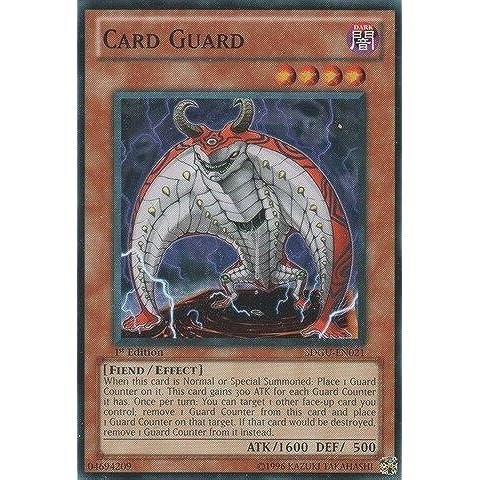 Yu-Gi-Oh! - Card Guard (SDGU-EN021) - Structure