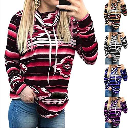 Maglione Pullover Girocollo Casual da Donna