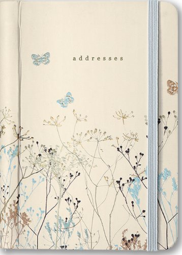 Address Book Butterflies