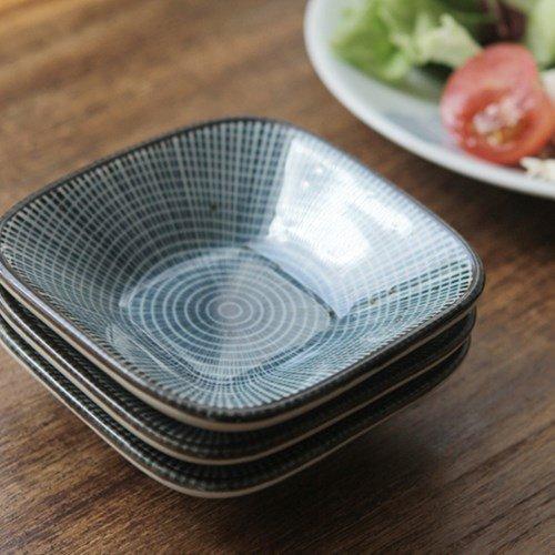 Kitchenware - sky-blue square dish Blue Square Dish