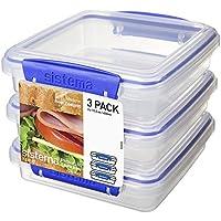 Sistema - Fiambreras para sándwiches (3 unidades)