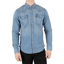 codice promozionale 8aae0 3cca5 Amazon.it: camicia jeans levis - Blu
