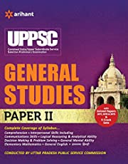 UPPSC Combined State Upper Subordinate Service Selection General Studies Paper - II