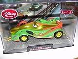 Disney / Pixar Cars Chase Edition 1:43 Die Cast Car in Plastic Case Rip Clutchgoneski (Metallic Gold...