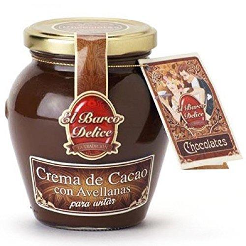 Crema de Cacao con Avellanas (350 g) - El Barco Delice