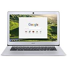 """Acer Chromebook CB3-431-C6E4 14"""" Full HD Gris (Intel Celeron, 4 Go de RAM, Mémoire 32 Go, Chrome OS)"""