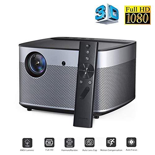 Heimkino Videobeamer Beamer Projektoren 1920 * 1080 Full HD DLP Projektor 1350 ANSI Lumen Unterstützung 4 Karat Android Wifi Bluetooth 3D Projektor Heimkino Beamer HDMI Super hell