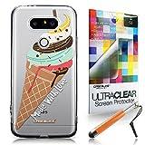 CASEiLIKE Crème glacée 4820 Housse Étui UltraSlim Bumper et Back for LG G5 +Protecteur d'écran+Stylets rétractables (couleur aléatoire)