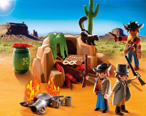 Playmobil-Escondite-de-los-bandidos-set-de-juego-5250
