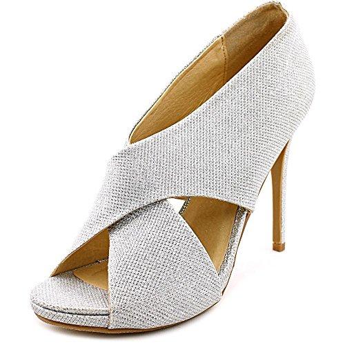 Senhoras Brilhantes Sintética Alto Sol Sapatos De Lavanderia Prata Chinese Salto De 7R4qxOf
